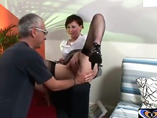 Brit Mummy Fucked By Older Man Vintagepornbay.com