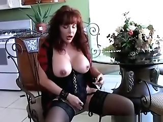 Spicy Old Latina Loves To Think Of You As She Plays With Her Fleshy Gash