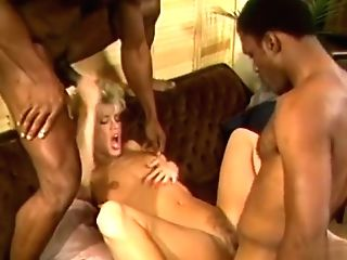 Horny Pornographic Star Amber Lynn In Exotic Threeways, Blonde Fuckfest Movie