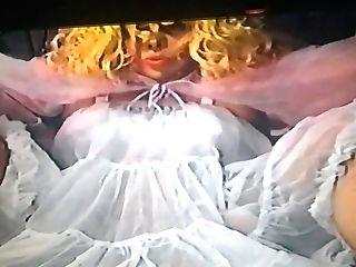 Nylon Fetisch Ten - Tv In Nylons  And Petticoat